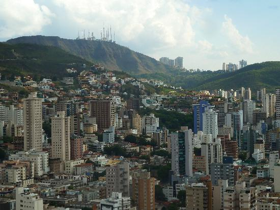 Quality Hotel Afonso Pena: view from the window at the 22nd floor room