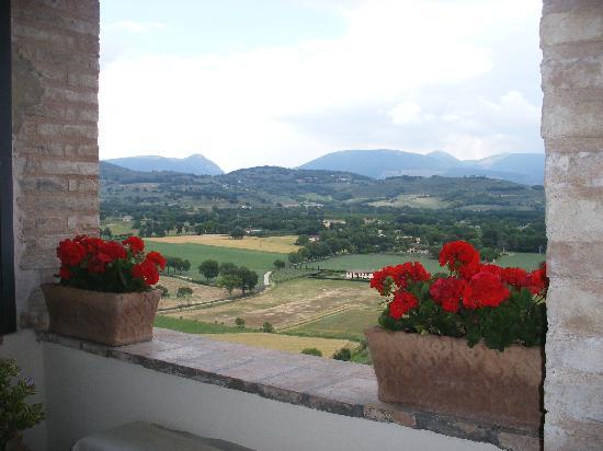 Albergo del Teatro : View from breakfast terrace
