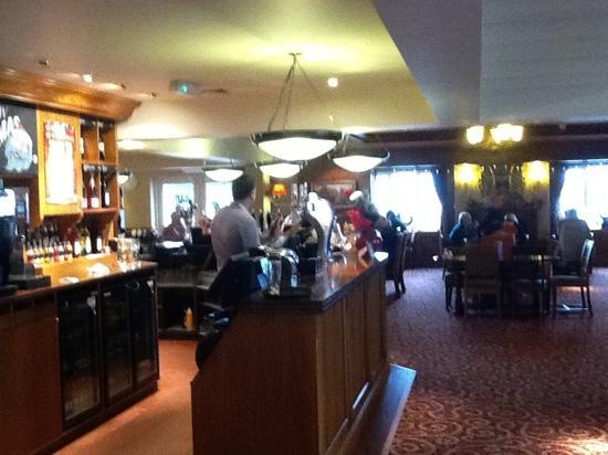 bar area of Golden Eagle