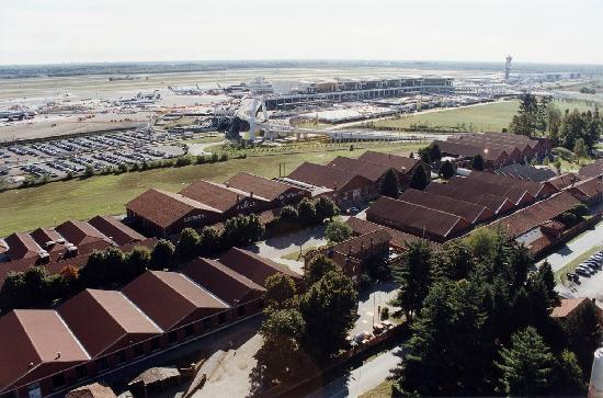 Somma Lombardo, Italia: Veduta aerea - Terminal 1 Mxp