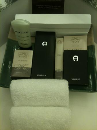 Midas Hotel and Casino: toiletries replenished daily