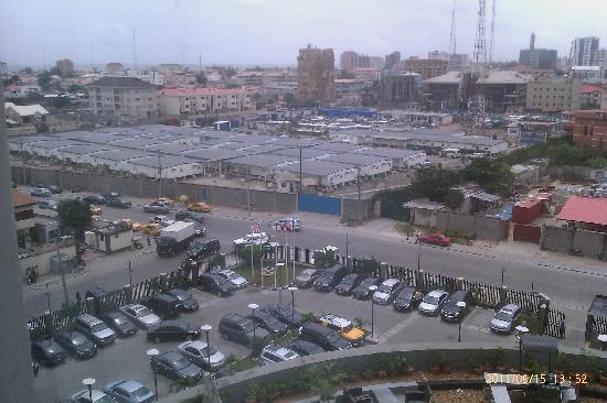 Four Points by Sheraton Lagos: Panoramic view from our room