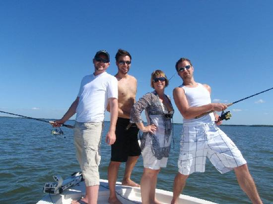 Cayo Costa State Park: Our group!