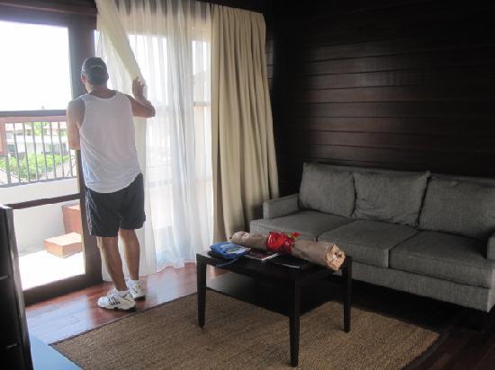 Amadea Resort & Villas: Living area