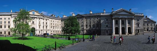 Trinity College Campus: Front Square, Trinity College