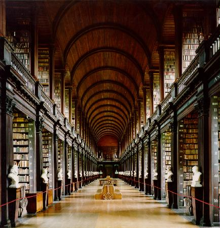 Trinity College Campus: The Long Room, Trinity College