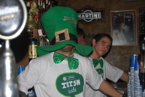The Temple Bar : Saint Patricks 2011
