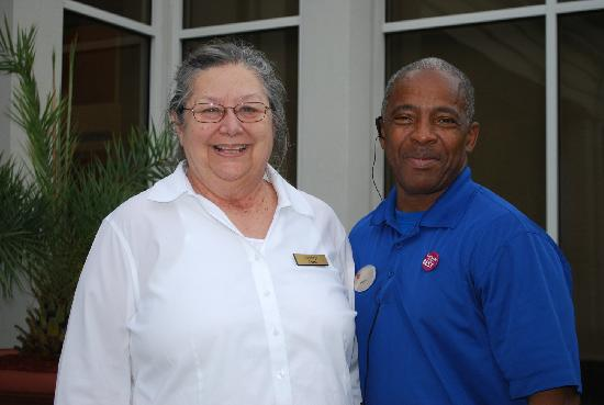 Hilton Garden Inn Savannah Midtown: Just two of the many staff, always ready to help and greet you with a smile!