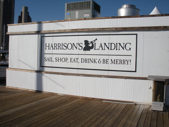 Tavern On the Bay: sign