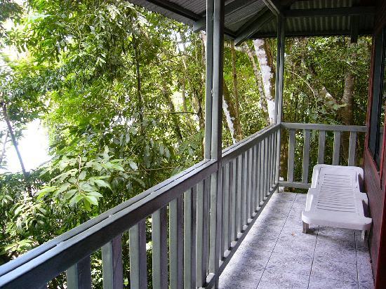 Saladero Eco Lodge: Porch at Tree House
