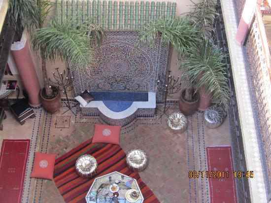 Riad Princesse du Desert: from above..