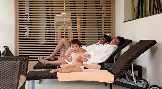 Hotel Schloss Pontresina Family & Spa: SPA