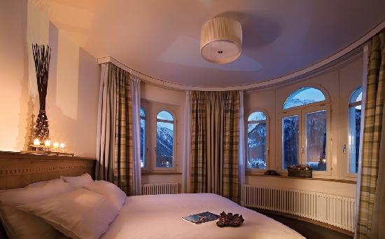 Hotel Schloss Pontresina Family & Spa: Room