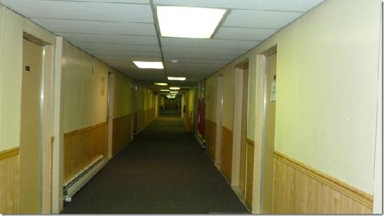 Prudhoe Bay Hotel Spotless Hallway