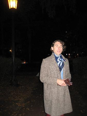 6th Sense World: Nick, very interesting, well groomed ghost tour guide...