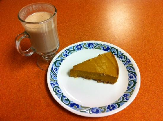 Green Wave Cafe: Sweet Potatoe Pie and Eggnog (Thanksgiving)