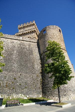 Celano, Italie : castello Piccolomini