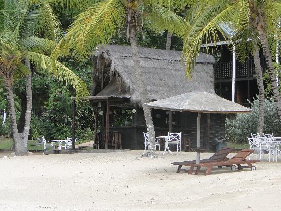 Tamarind Beach Hotel & Yacht Club: 'Our' beach bar...