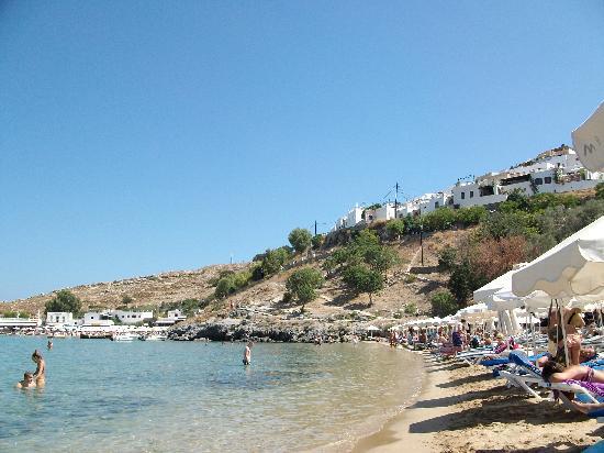 Mitsis La Vita Beach Hotel: Lindos beach