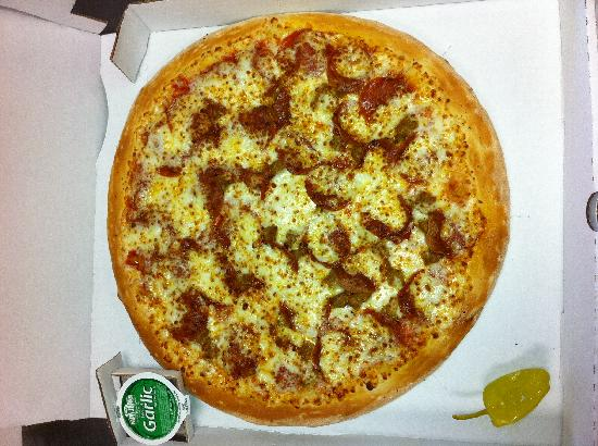 Papa John's: Sausage and Peppers Pizza