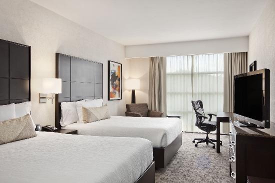 Hilton Garden Inn Tuxtla Gutierrez: Habitación con 2 camas Queen / 2 Queen Beds Room
