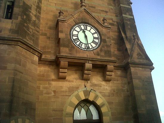 Aina Mahal: Wall Clock inside Prag Mahal