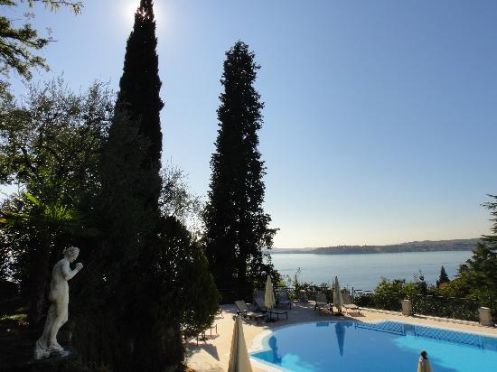 Hotel Villa del Sogno : View from pool area