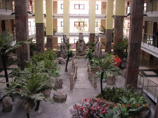 Holiday Polynesia: Interior hotel
