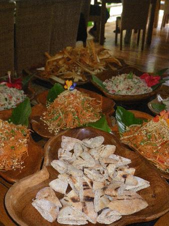 Pranamar Buddha Eyes: Lunch