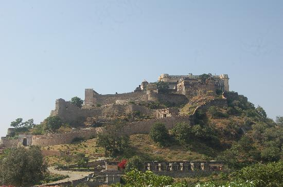 Rajsamand, Indie: The view of the fort