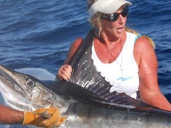 Hotel Los Pescadores: my first marlin of the day