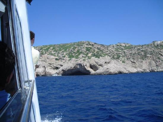 Cueva Azul : Desde lejos