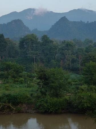 Lao Spirit Resort : view from our bungalow