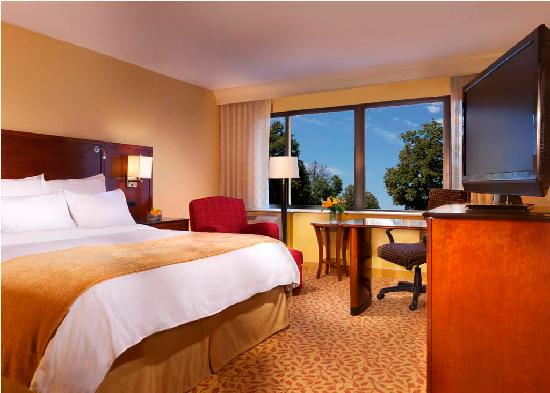 Marriott at Research Triangle Park: King Guest Room