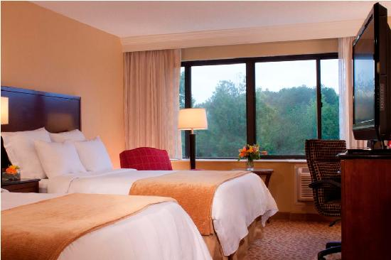 Marriott at Research Triangle Park: Double Double Guest Room