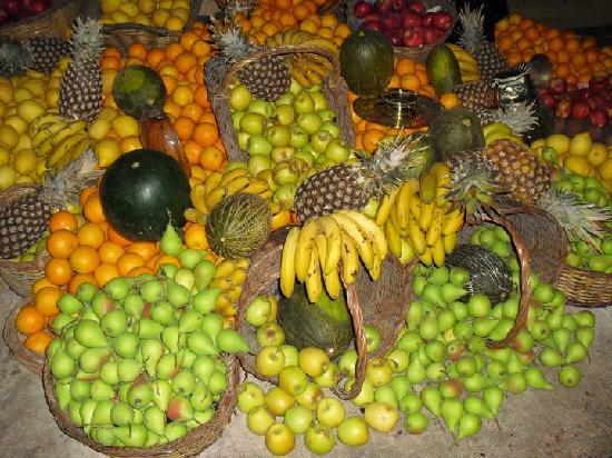 Bar Ábaco: Frutas naturales