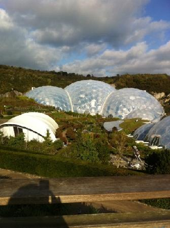 Merlin Farm Cottages Mawgan Porth: lovely Eden project