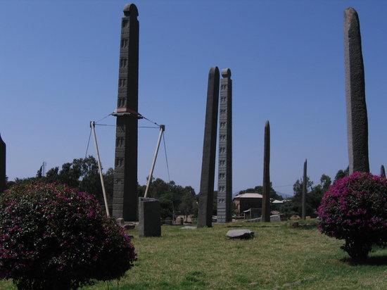 Axum, Ethiopia: Stelenpark