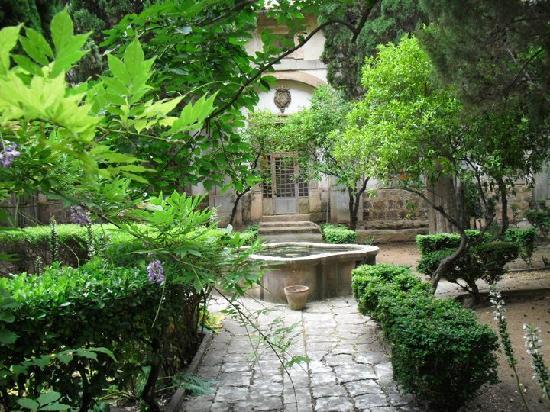 Jard n fotograf a de monasterio real cartuja valldemossa for Jardines de la cartuja