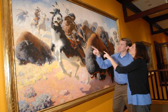 "The Rockwell Museum: Viewing ""The Buffalo Hunt"" by William Robinson Leigh"