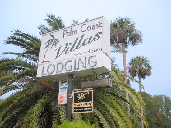 Palm Coast Villas: Welcom sign