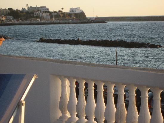 La Rotonda Sul Mare: View from upper sun deck