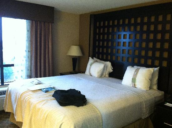 Holiday Inn Hotel & Suites Tulsa South: very comfortable bed