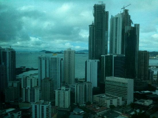 Hotel Riu Plaza Panamá: view from my room