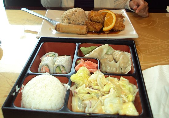 Taste of Asia: all cost $14, not bad but not authentic