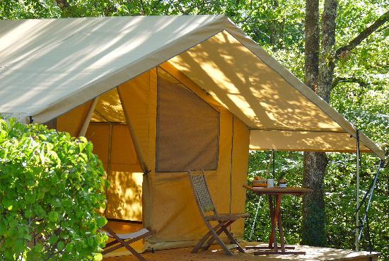 Camping les Hirondelles : Lodge aux Hirondelles