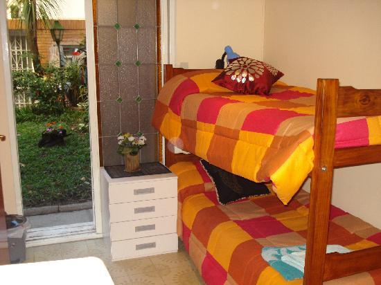 jardín en el interior de MT SOHO Hostel