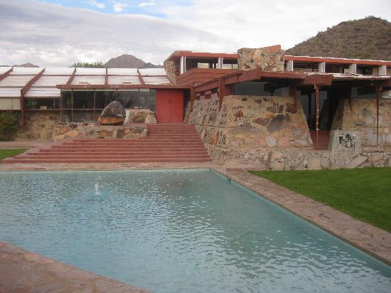 Taliesin West: Pool view