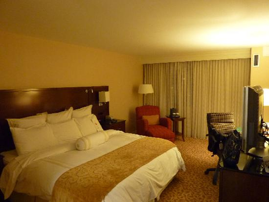 Buffalo Marriott Niagara: King bed room