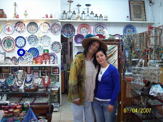 Moon Light Souvenir Silver Shop : Patricia and Julia, Owner